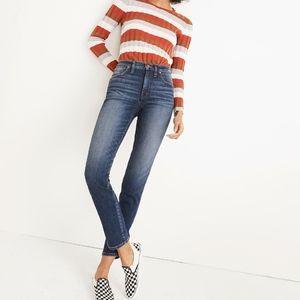 Madewell Straight Slim Jeans